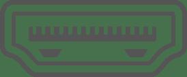 HDMI コネクターイメージ